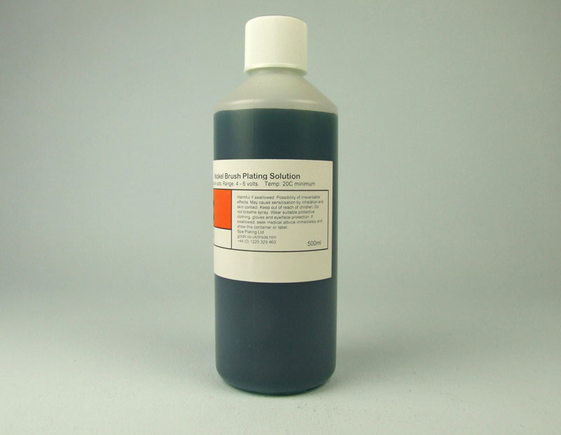 Black Nickel Brush Plating Solution