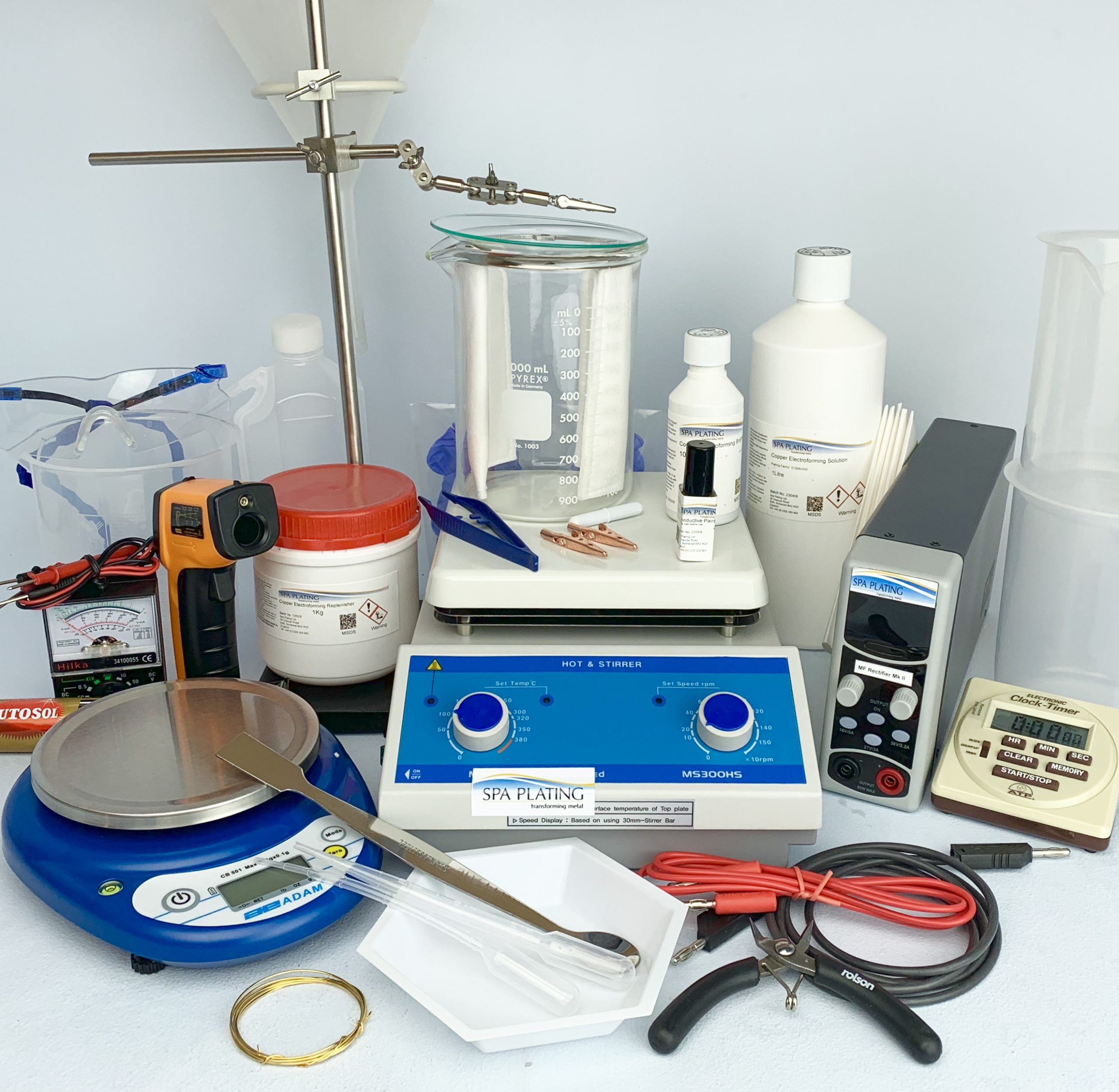 Electroforming Kit – Copper (UK and EU only) - 1 Litre