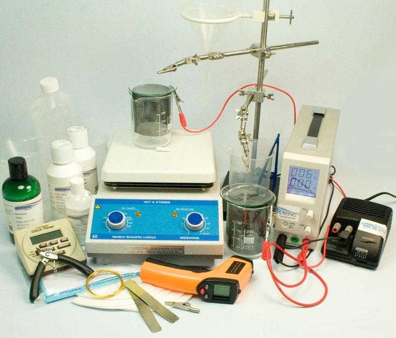 gold tank plating kit