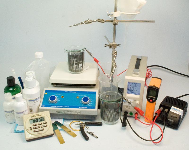 Rhodium Tank Plating Kit - 2 Litre