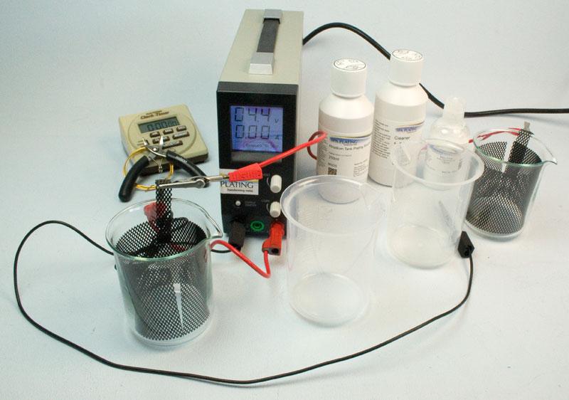 Rhodium Tank Plating Starter Kit