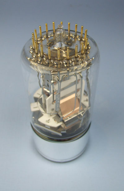 Finished photomultiplier