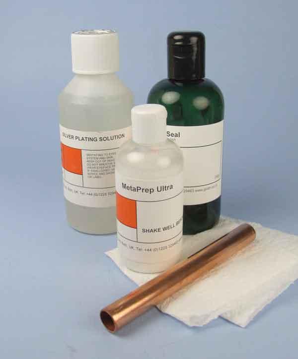 Silver brush plating solution
