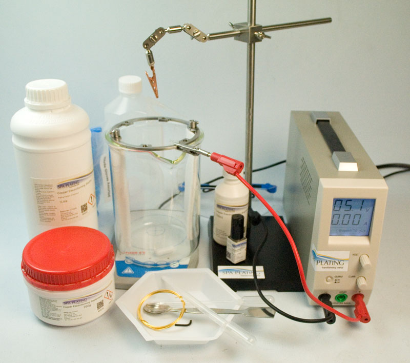 Copper Electroforming Starter Kit - 2 Litre