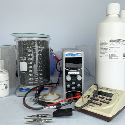 High Speed Gold Tank Plating Solution - Spa Plating - gold